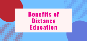Distance Education Benefits