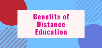 Distance Education Benefits