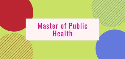 Master of Public Health