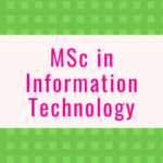 MSc in Information Technology