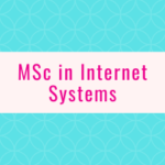 MSc in Internet Systems