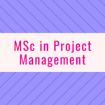 MSc in Project Management
