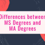 Differences between an MS Degree & an MA Degree